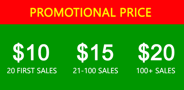 promotional launching price